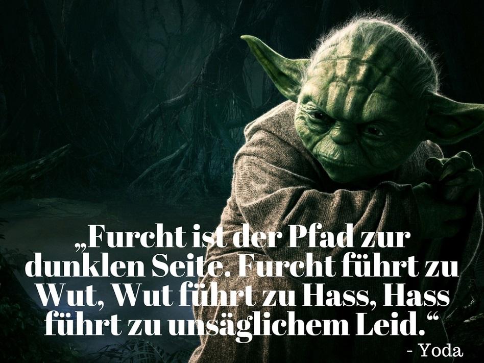 Yoda Furcht Hass