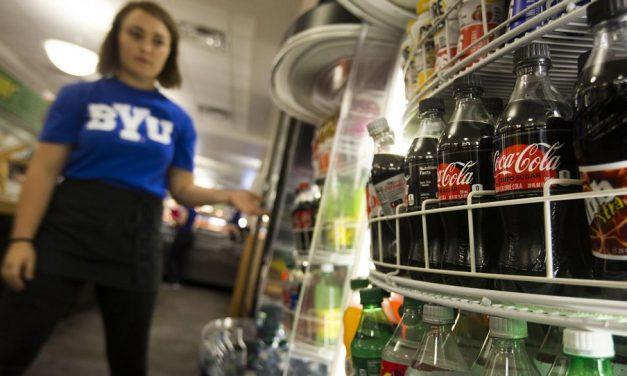 BYU verkauft koffeinhaltige Getränke auf dem Campus