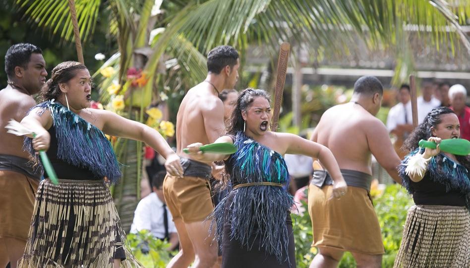 Tonga Kirche Mormonen Tanz