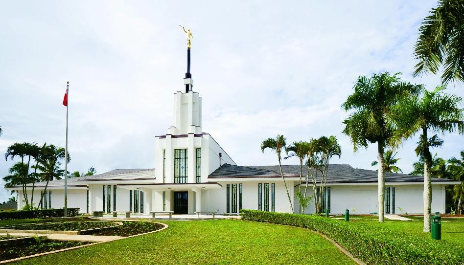 Mit einem Apostel auf Tonga