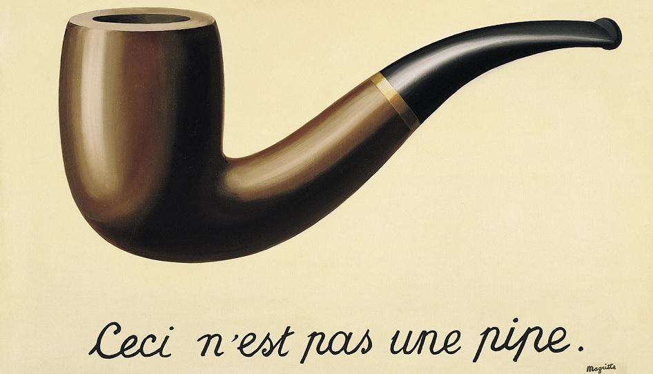 Rene Magritte Pfeife