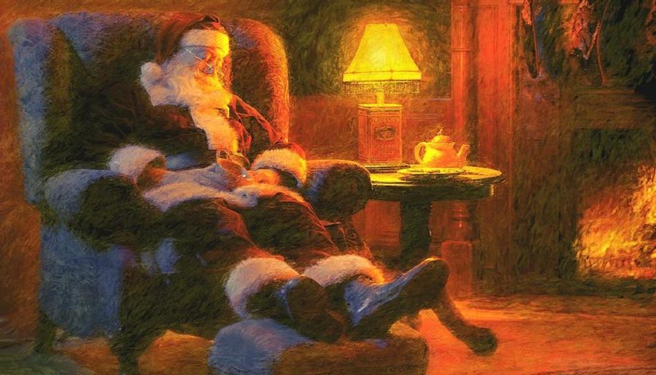 Santa Claus Weihnachtsmann