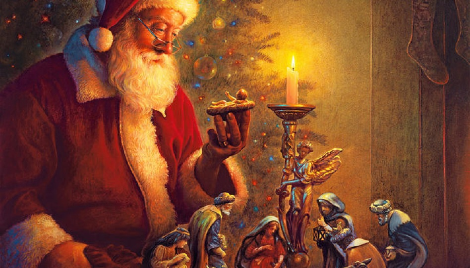Greg Olsen Mormonen Weihnachtsmann