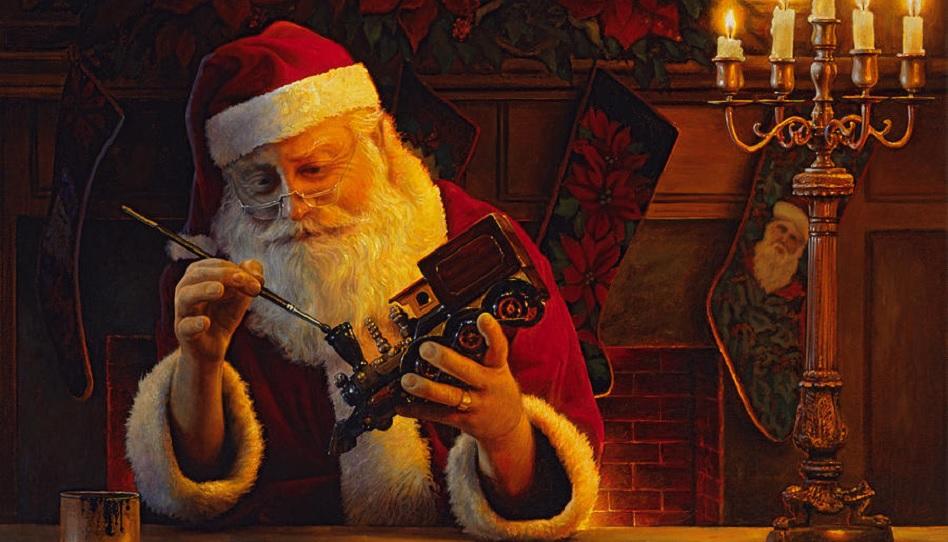 Ave Maria Weihnachtsmann Greg Olsen