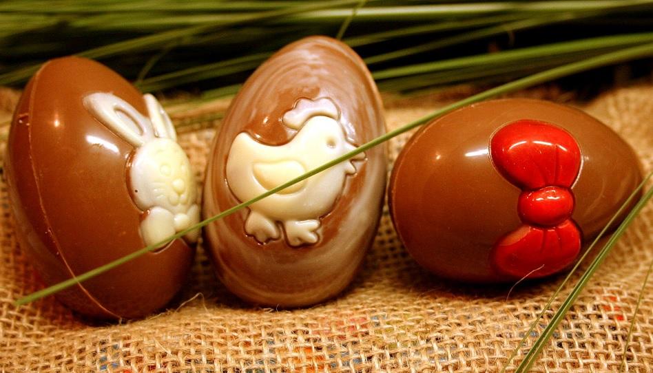 Ostereier Frankreich aus Schokolade
