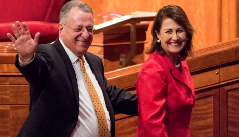Elder Soares und seine Frau