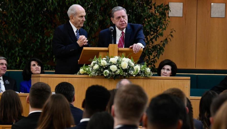 Elder Holland Präsident Nelson Zitate