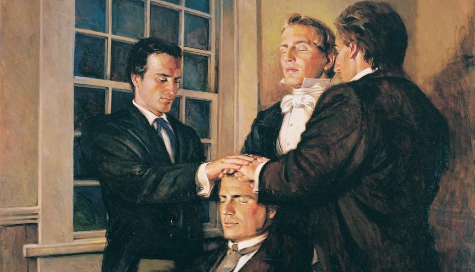 Joseph Smith überträgt Parley P. Pratt das Priestertum