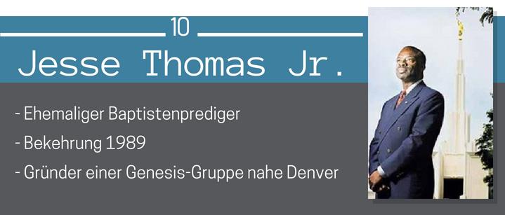 Jesse Thpmas Jr. Schwarze Mormonen