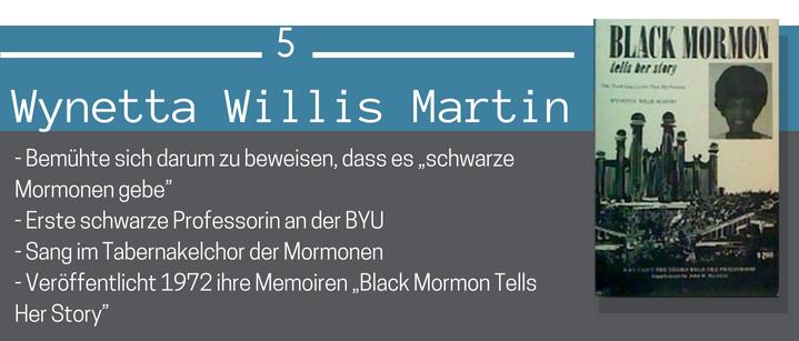 Wynetta Willis Martin Schwarze Mormonen