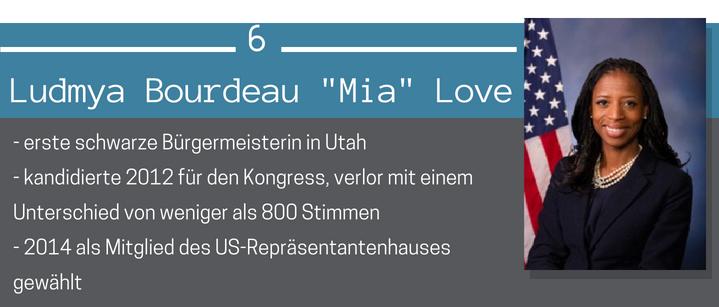 Mia Love Schwarze Mormonen