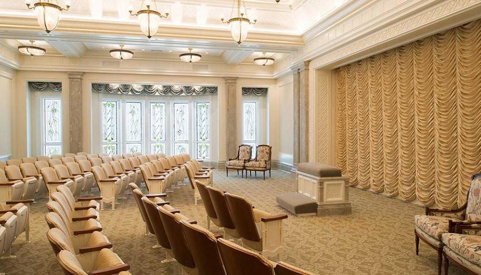 Endowment Raum Mormonen Tempel HLT