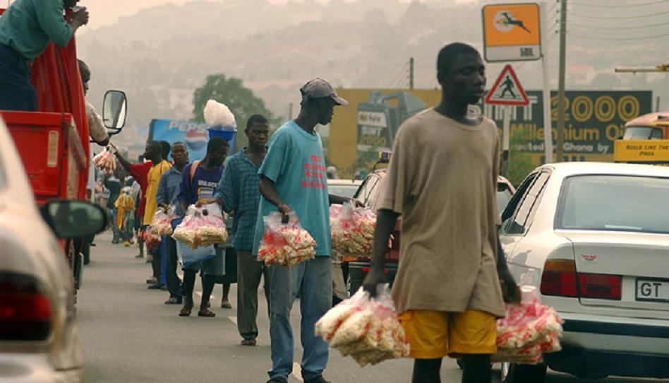 Straßenverkäufer Afrika Priestertum Mormonen