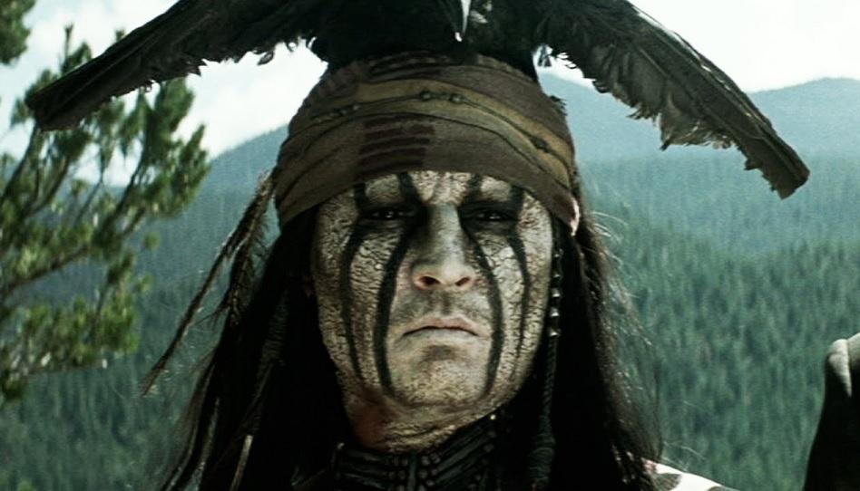 Als 2 Missionare Johnny Depp ein Buch Mormon gaben