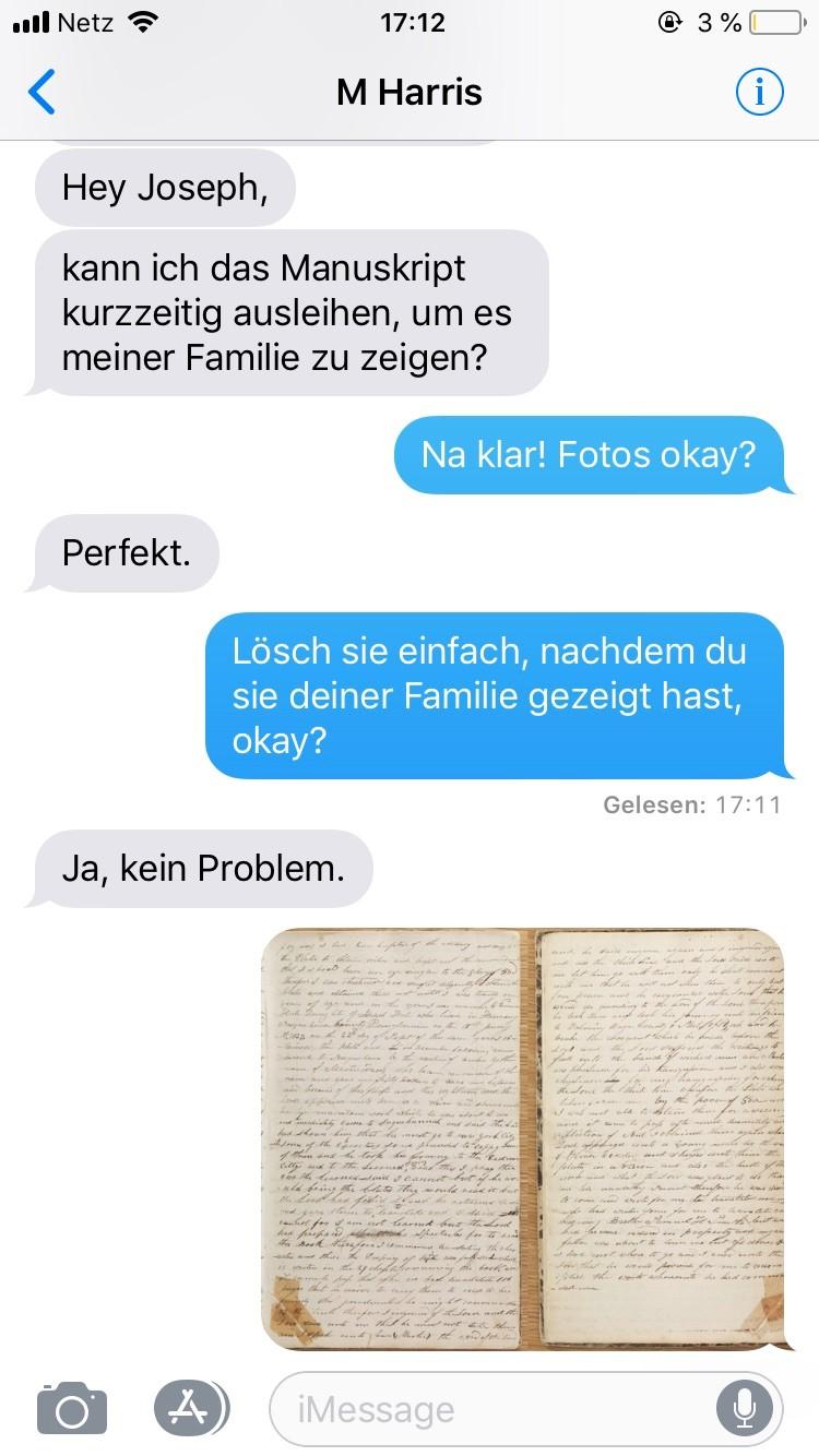 Martin Harris SMS
