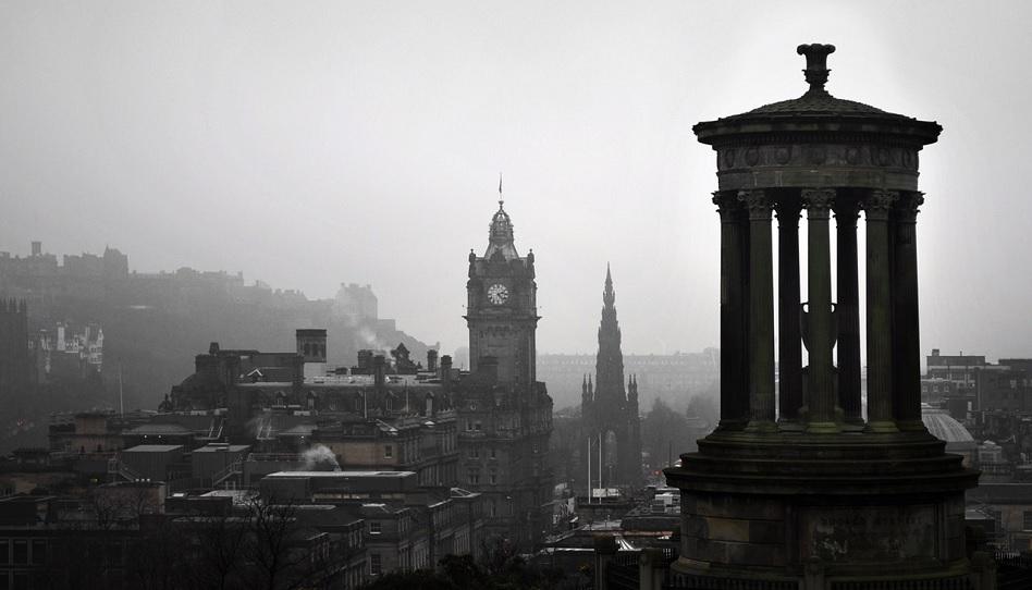 Ein Gebet in Edinburgh