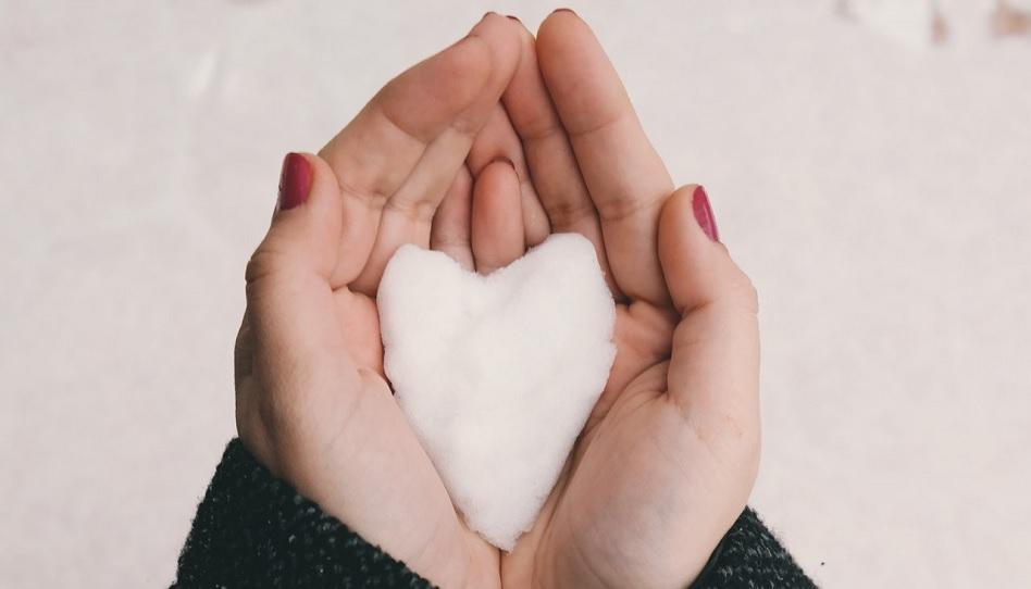 Eis Herz Liebe