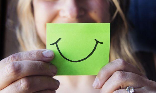Lächeln: Ein Rezept zum Glücklichsein