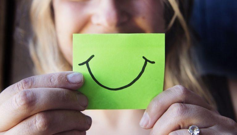 Lächeln macht glücklich und ist gesund
