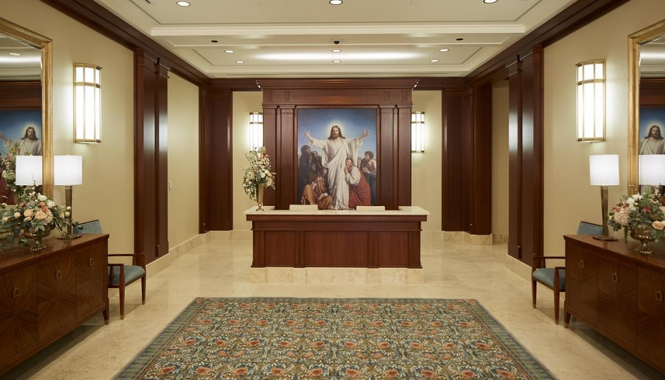 Heilige der Letzten Tage Mormonen Tempel