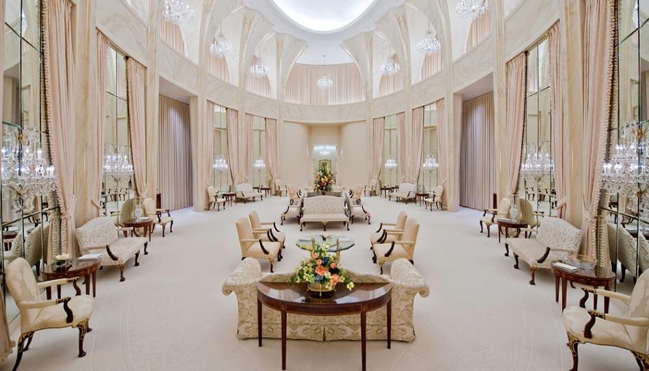 Tempel Mormonen celestialer Raum