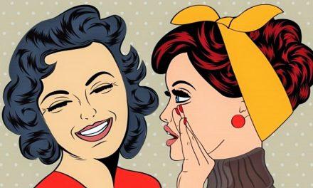 Wie man mit dem Tratschen aufhört, obwohl es so großen Spaß macht