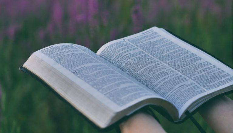 In diesem Beitrag geht es darum, dass wir oft unser Zeugnis als etwas Selbstverständliches ansehen. Zum Beispiel unser Zeugnis von den Heiligen Schriften. Darum sind hier zwei Hände zu sehen, die eine aufgeschlagene Bibel halten.