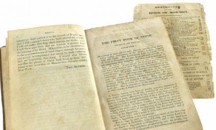 5 interessante Fakten zur Buch-Mormon-Erstausgabe