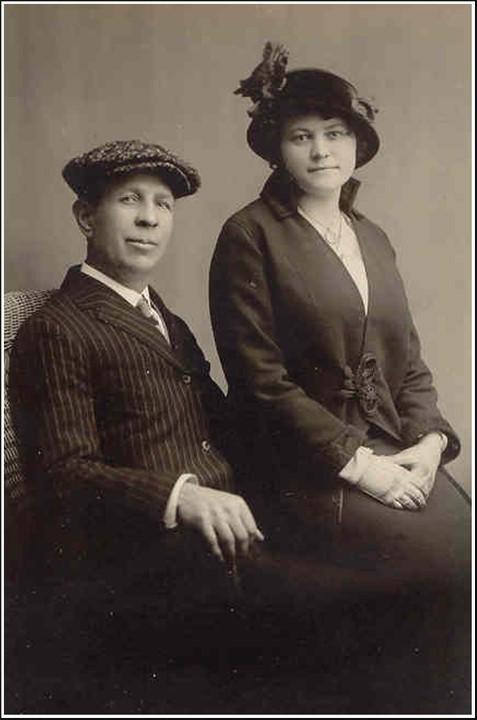 Dies ist eine Originalaufnahme des Ehepaars Bean.