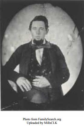 Zu sehen ist ein Portrait von Isaac Russell, der bei der ersten der Geistergeschichten dabei war.