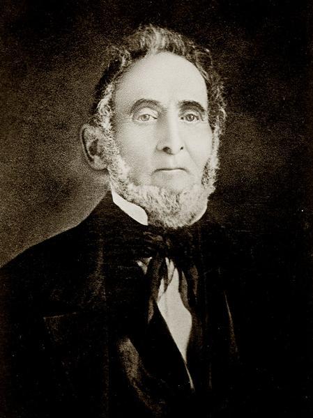 Zu sehen ist Sidney Rigdon, der zu Lebzeiten des Präsidenten Joseph Smith, dessen erster Ratgeber war.